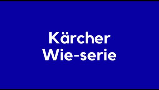 Accu voor Kärcher Wie-serie elektrische en robotstofzuigers