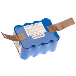 Stofzuigeraccu Klarstein Saugroboter 14.4V 2200mAh 2.2Ah Ni-MH Replacement NS3000D03X3 YX-Ni-MH-022144