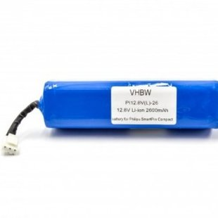 Stofzuigeraccu Philips 12.8V 2600mAh 2.6Ah Li-Ion Replacement FC8710