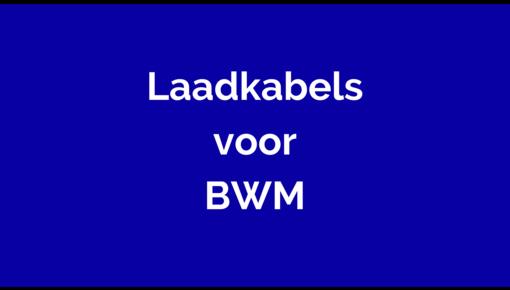 Laadkabel voor BWM