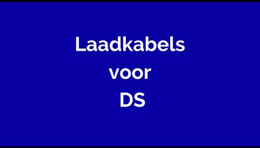 Laadkabel voor DS