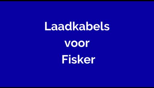 Laadkabel voor Fisker