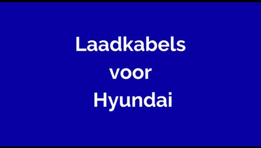 Laadkabel  voor Hyundai
