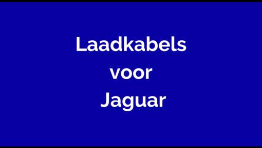 Laadkabel voor Jaguar