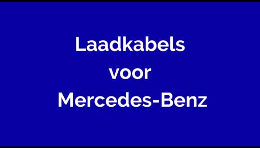 Laadkabel voor Mercedes-Benz