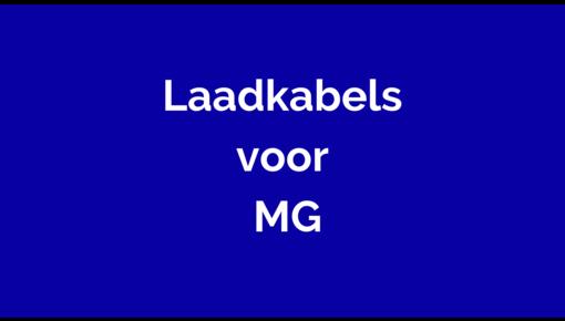 Laadkabel voor MG
