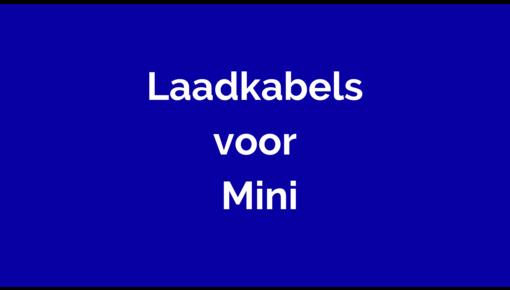 Laadkabel voor Mini