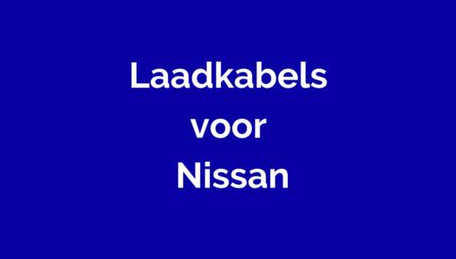 Laadkabel voor Nissan