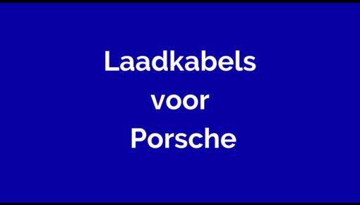 Laadkabel voor Porsche