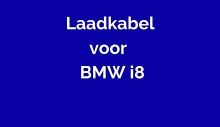 Laadkabel voor BMW i8