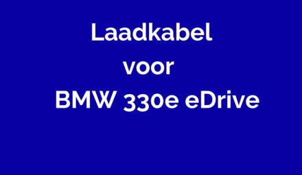 Laadkabel voor BMW 330e eDrive