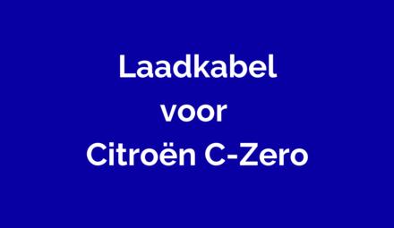 Laadkabel voor Citroën C-Zero