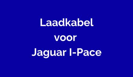 Laadkabel Jaguar I-Pace
