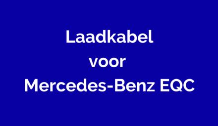 Laadkabel voor Mercedes-Benz EQC