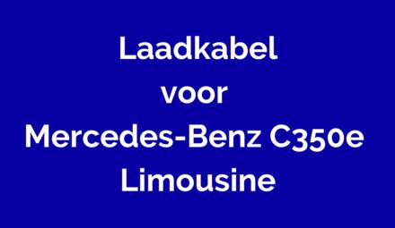 Laadkabel voor Mercedes-Benz C350e Limousine