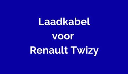 Laadkabel voor Renault Twizy