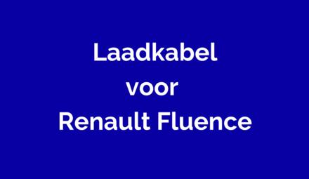 Laadkabel voor Renault Fluence