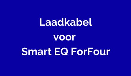 Laadkabel voor Smart EQ ForFour