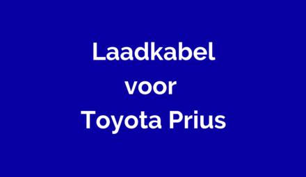 Laadkabel voor Toyota Prius