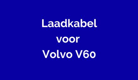 Laadkabel voor Volvo V60