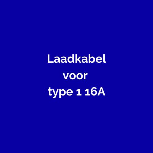 Type 1 1-fase 16A