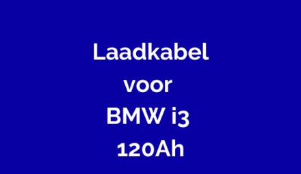 Laadkabel voor BMW i3 120Ah