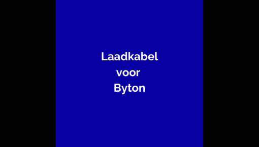 Laadkabel Byton