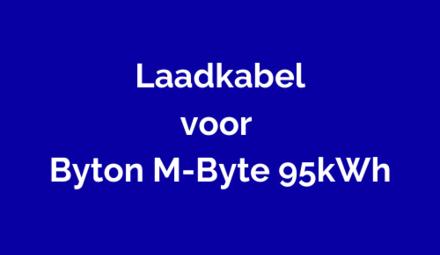 Laadkabel voor Byton M-Byte 95kWh