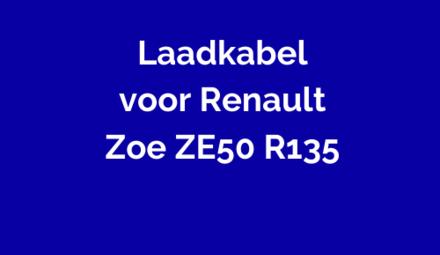 Laadkabel voor Renault Zoe ZE50 135
