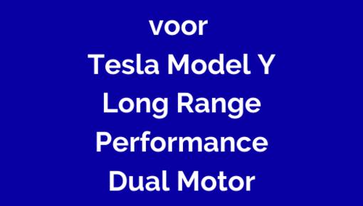 Laadkabel voor Tesla Model Y Longe Range Dual Motor