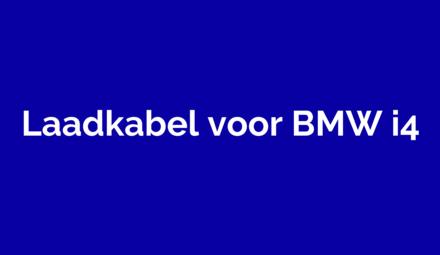Laadkabel voor BMW i4