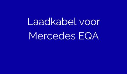 Laadkabel voor Mercedes EQA