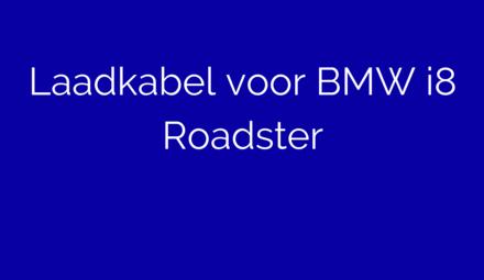 Laadkabel voor BMW i8 Roadster