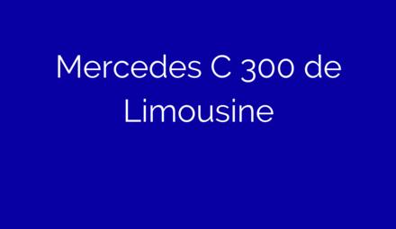 Laadkabel voor Mercedes C 300 de Limousine