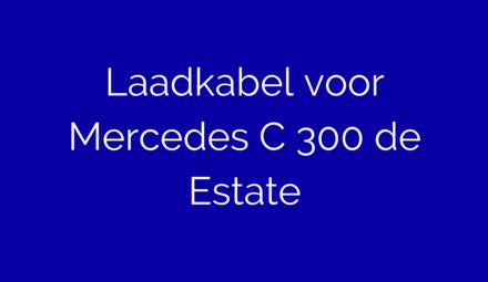 Laadkabel voor Mercedes C300 de Estate