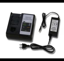 Vervangende lader voor Panasonic 7.2v - 24v Ni-CD, Ni-MH en Li-Ion lader Replacement