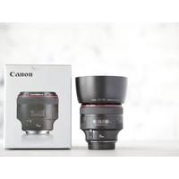 thumb-Canon EF 85mm f/1.2L II USM-1