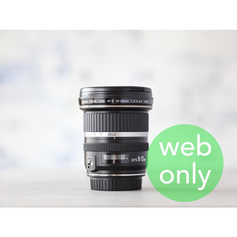 Canon EF-S 10-22mm f/3.5-4.5 USM-1
