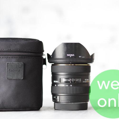 Sigma 10-20mm f/4-5.6 EX DC HSM (Canon)