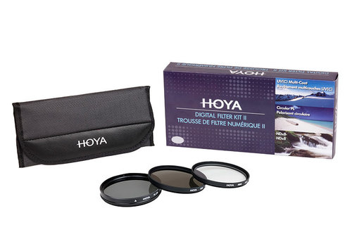 Hoya filter set 77mm (3 filters)