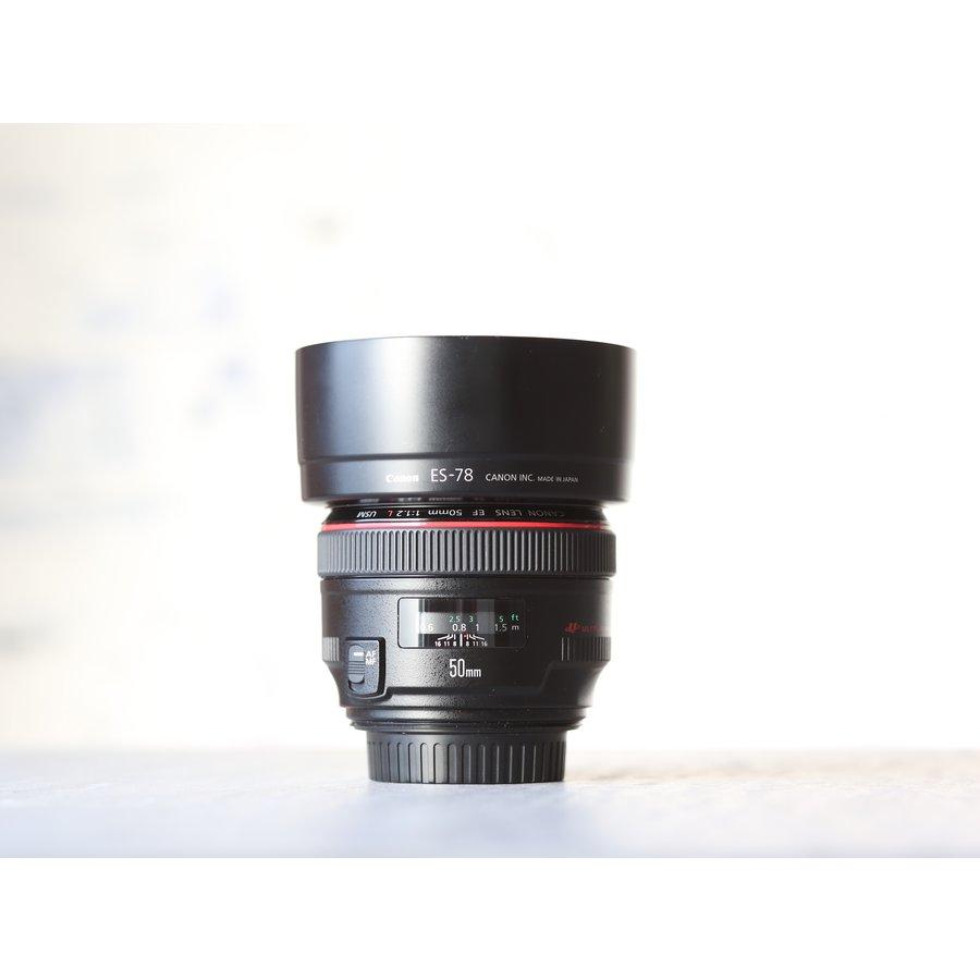 Canon EF 50mm f/1.2L USM-2