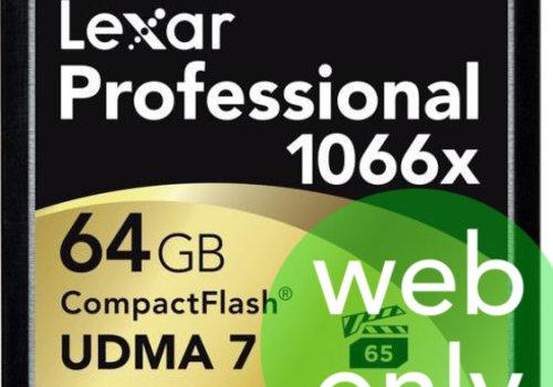 Lexar 64GB 1066x Compact Flash