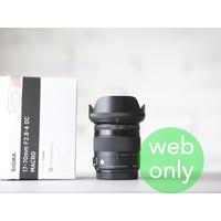 thumb-Sigma 17-70mm f/2.8-4.0 DC OS HSM Macro Contemp. (Canon)-1