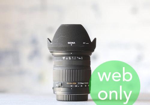 Sigma 17-70mm f/2.8-4.5 DC  (Canon)