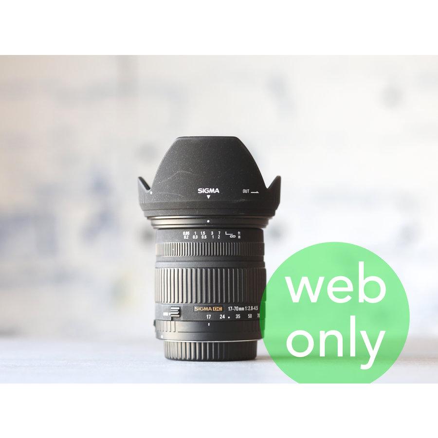 Sigma 17-70mm f/2.8-4.5 DC  (Canon)-1