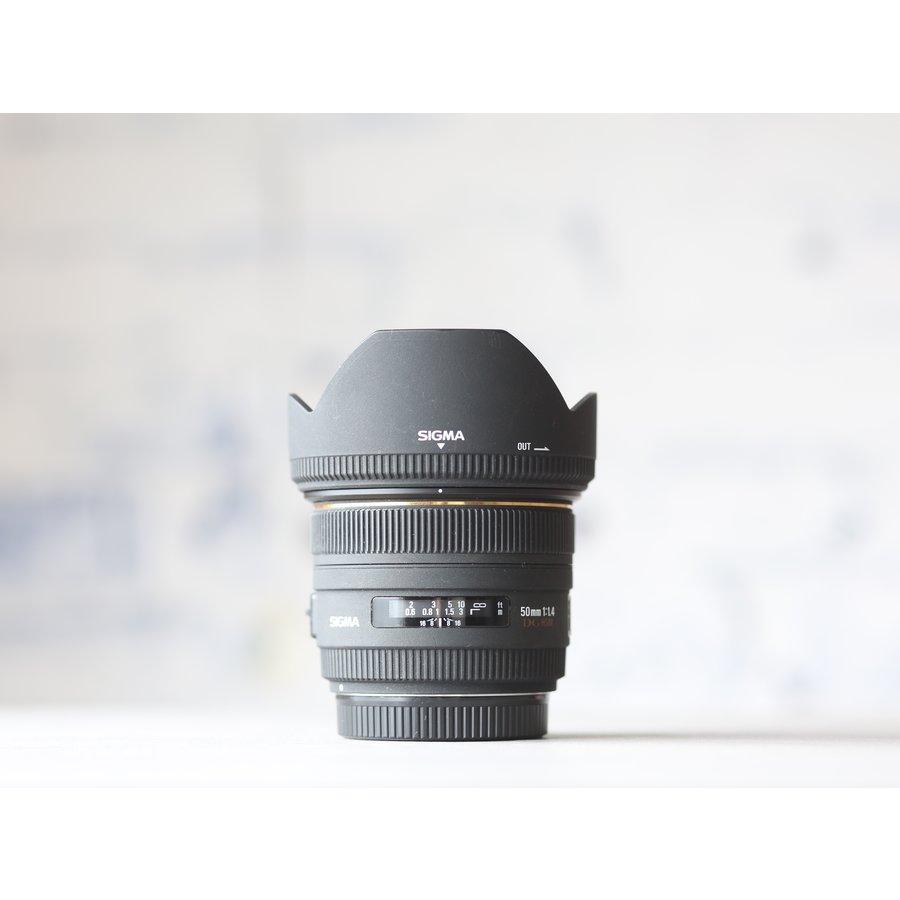 Sigma 50mm f/1.4 EX DG HSM (Canon)-2