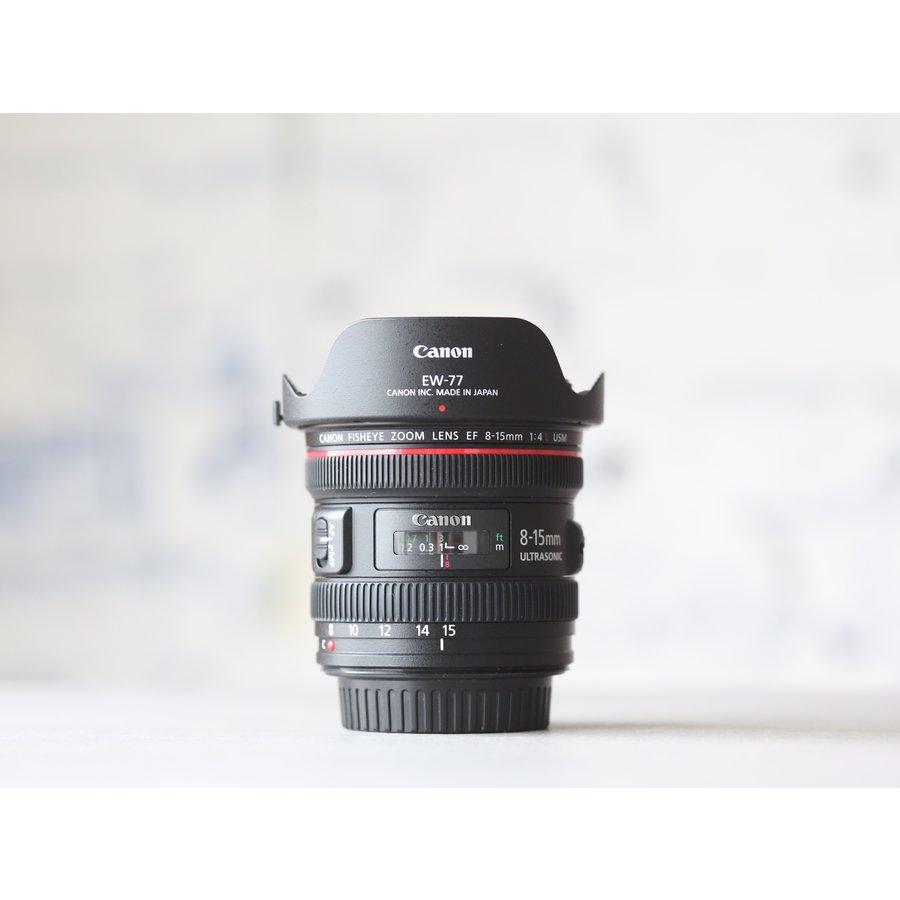 Canon EF 8-15mm f/4L Fisheye USM-2