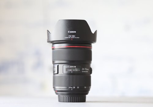 Canon EF 24-70mm f/2.8L II USM -- (Incl. BTW)