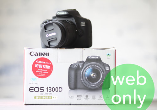 Canon EOS 1300D + 18-55mm Kit