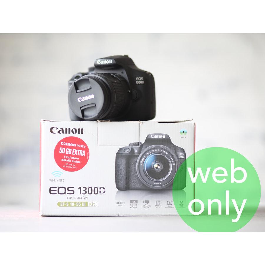 Canon EOS 1300D + 18-55mm Kit-1